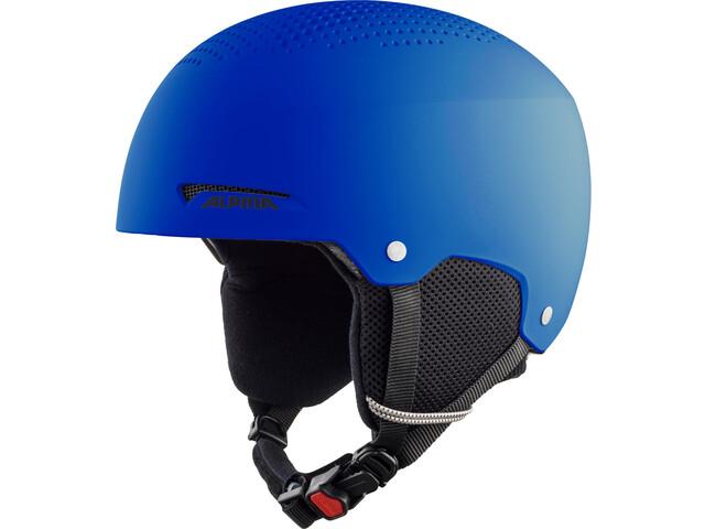 Alpina Zupo Ski Helmet Kids, blue matt